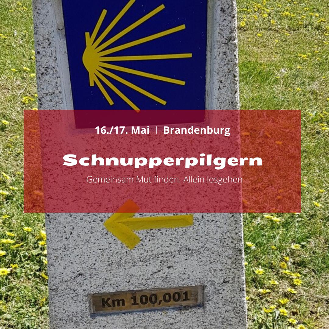 Schnupperpilgern in Brandenburg