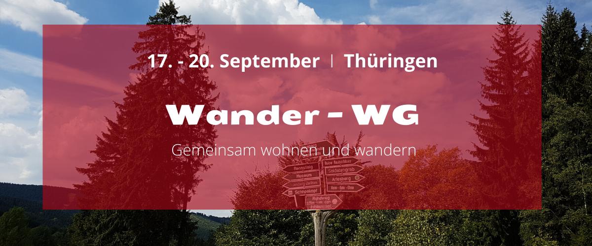 Wander-WG in Thüringen