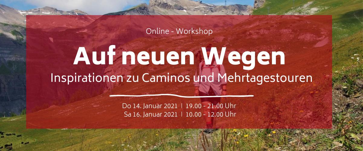 Titel Workshop auf neuen Wegen